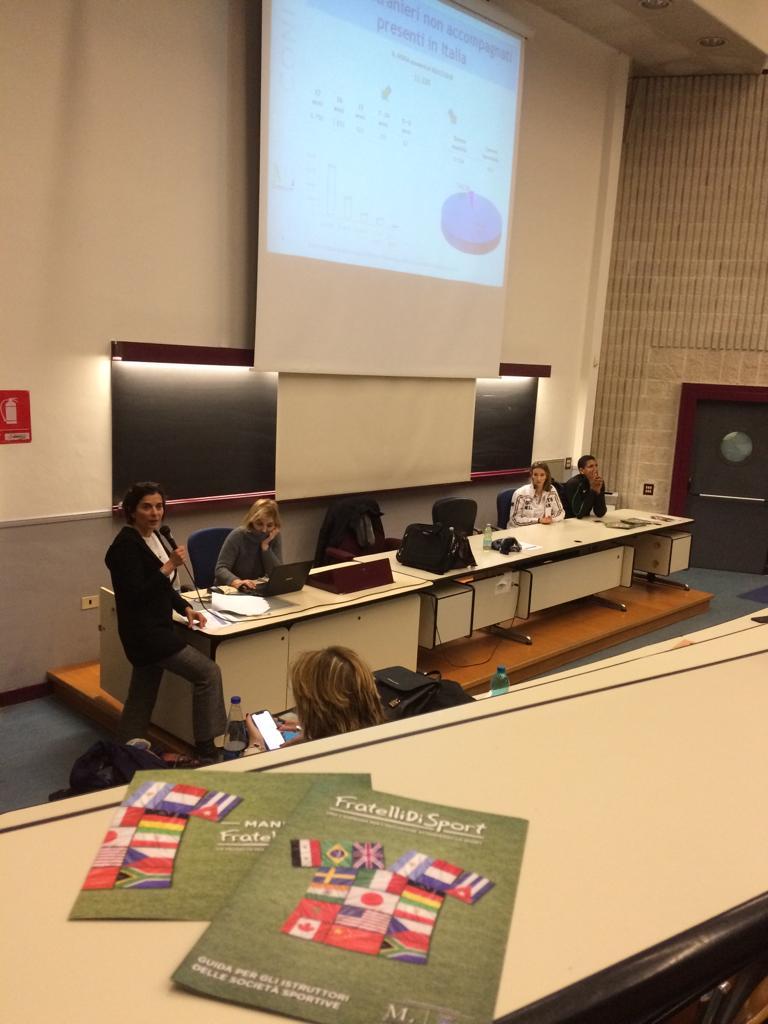 Angelica Savrayuk incontra gli studenti dell'Università di Tor Vergata