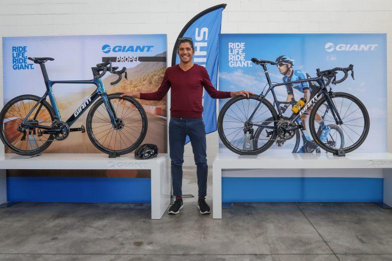 Alessandro Fabian con Giant e Shimano