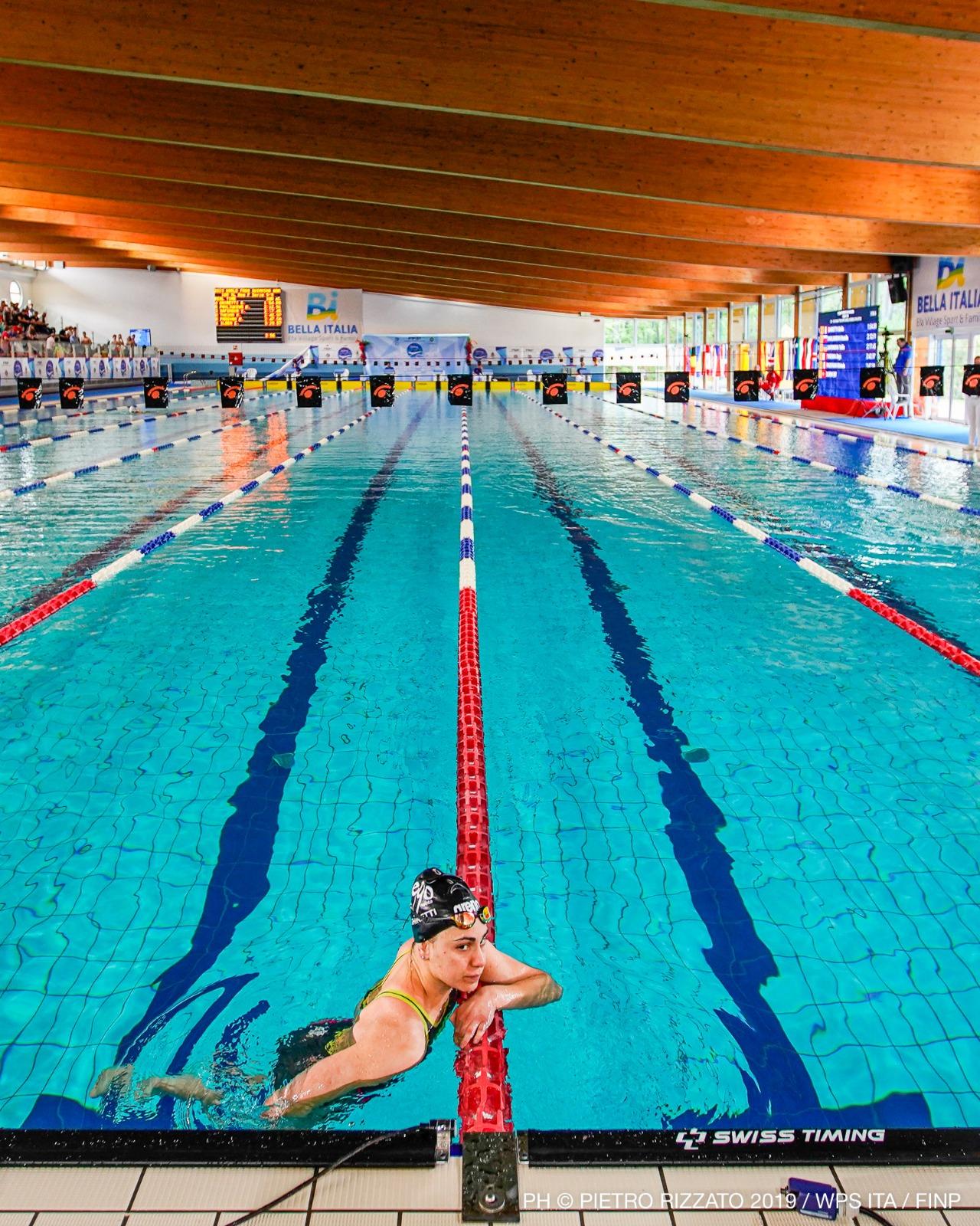 Giulia Ghiretti alle World Series Para Swimming di Lignano - credits Pietro Rizzato