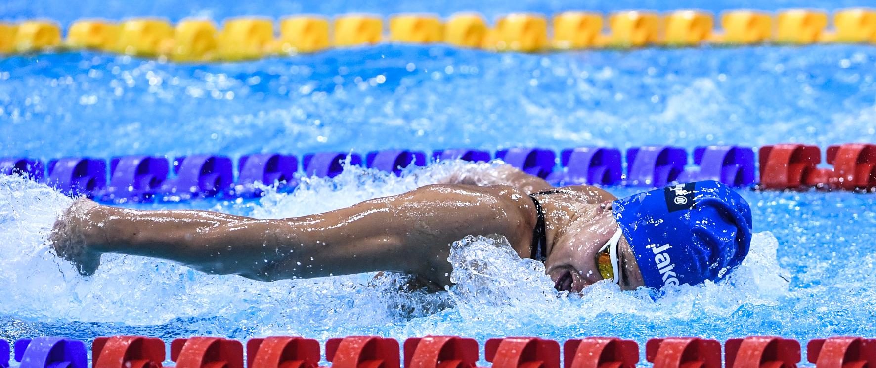 Ghiretti Londra nei 50farfalla ai Mondiali Paraswimming