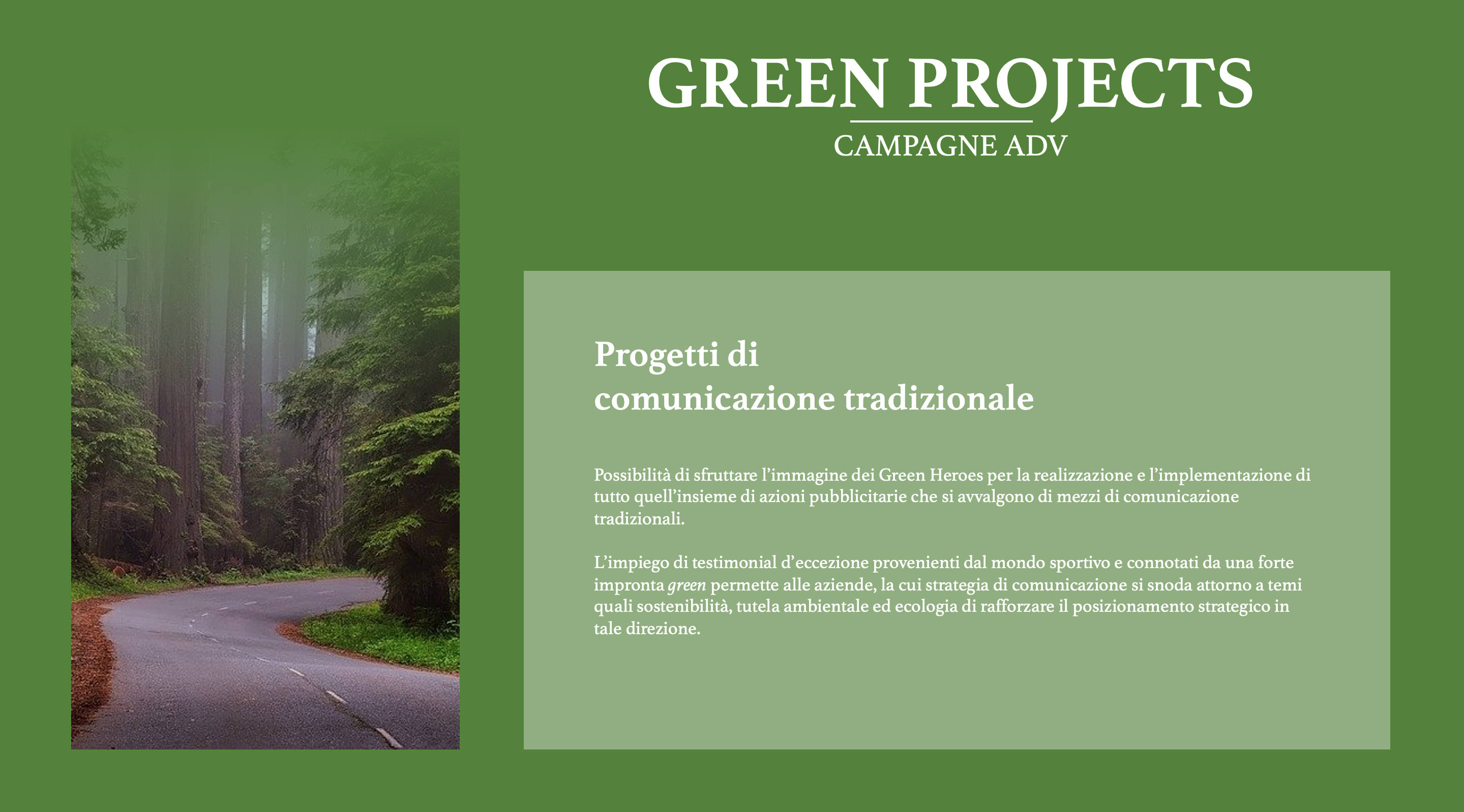 Green Heroes - Campagne ADV