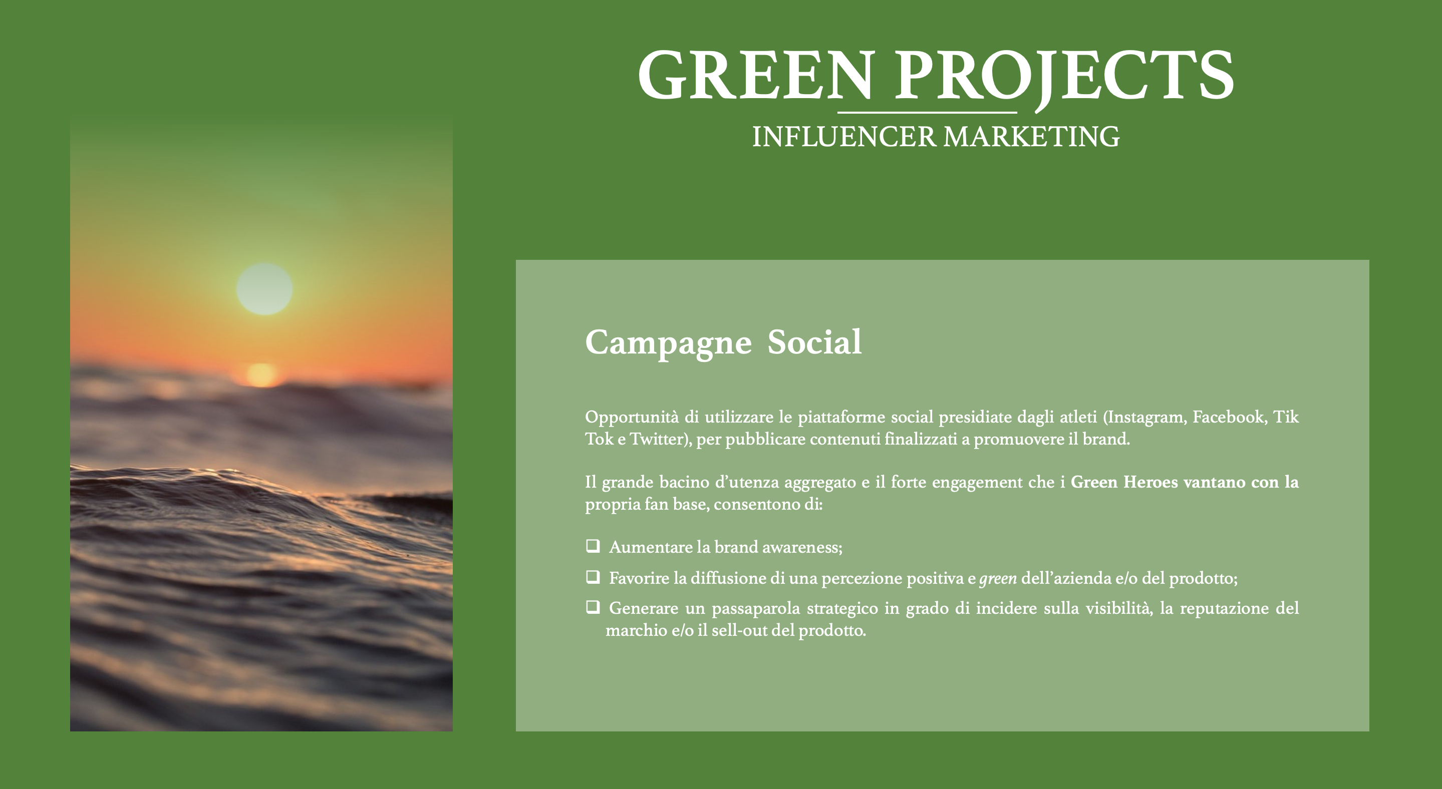 Green Heroes - Influencer Marketing