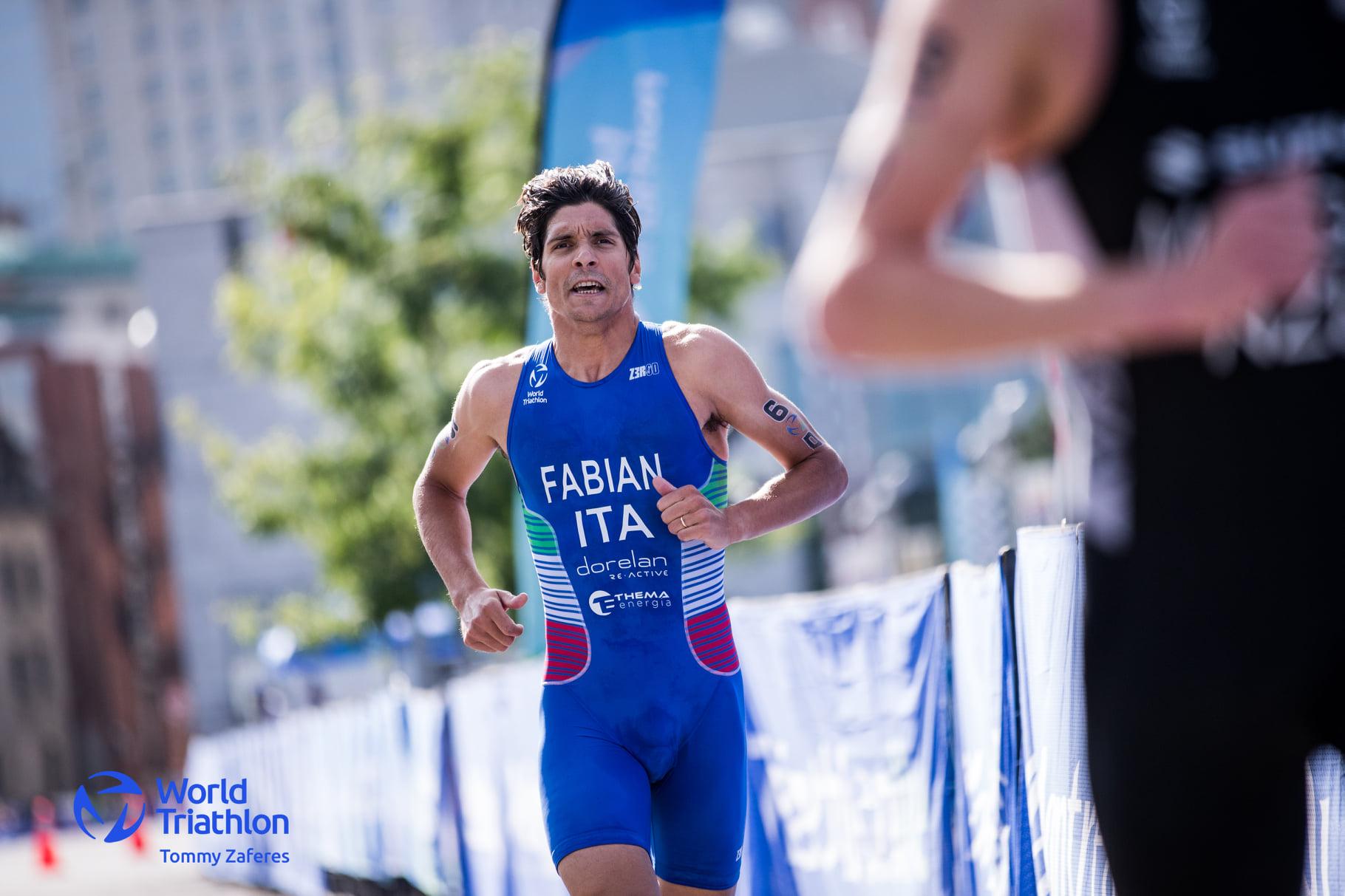 Alessandro Fabian alla Triathlon Grand Final