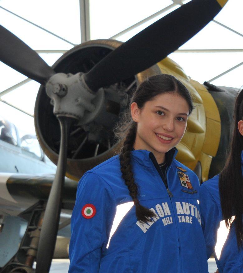 Milena Baldassarri si arruola nell'Aeronautica
