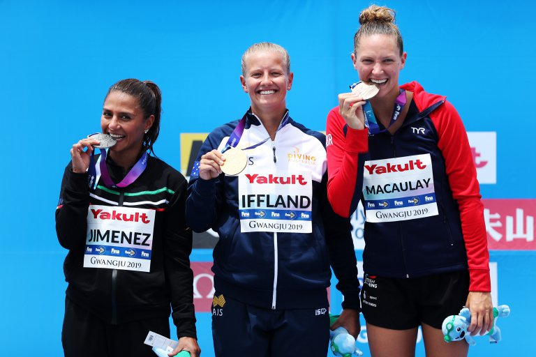 Jessica Macaulay terza ai Mondiali FINA